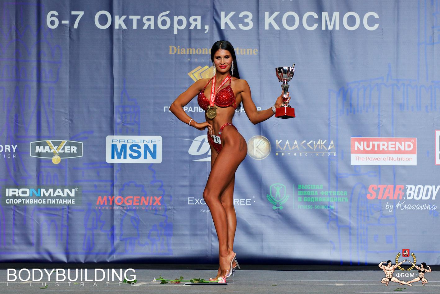Чемпионат Москвы по бодибилдингу