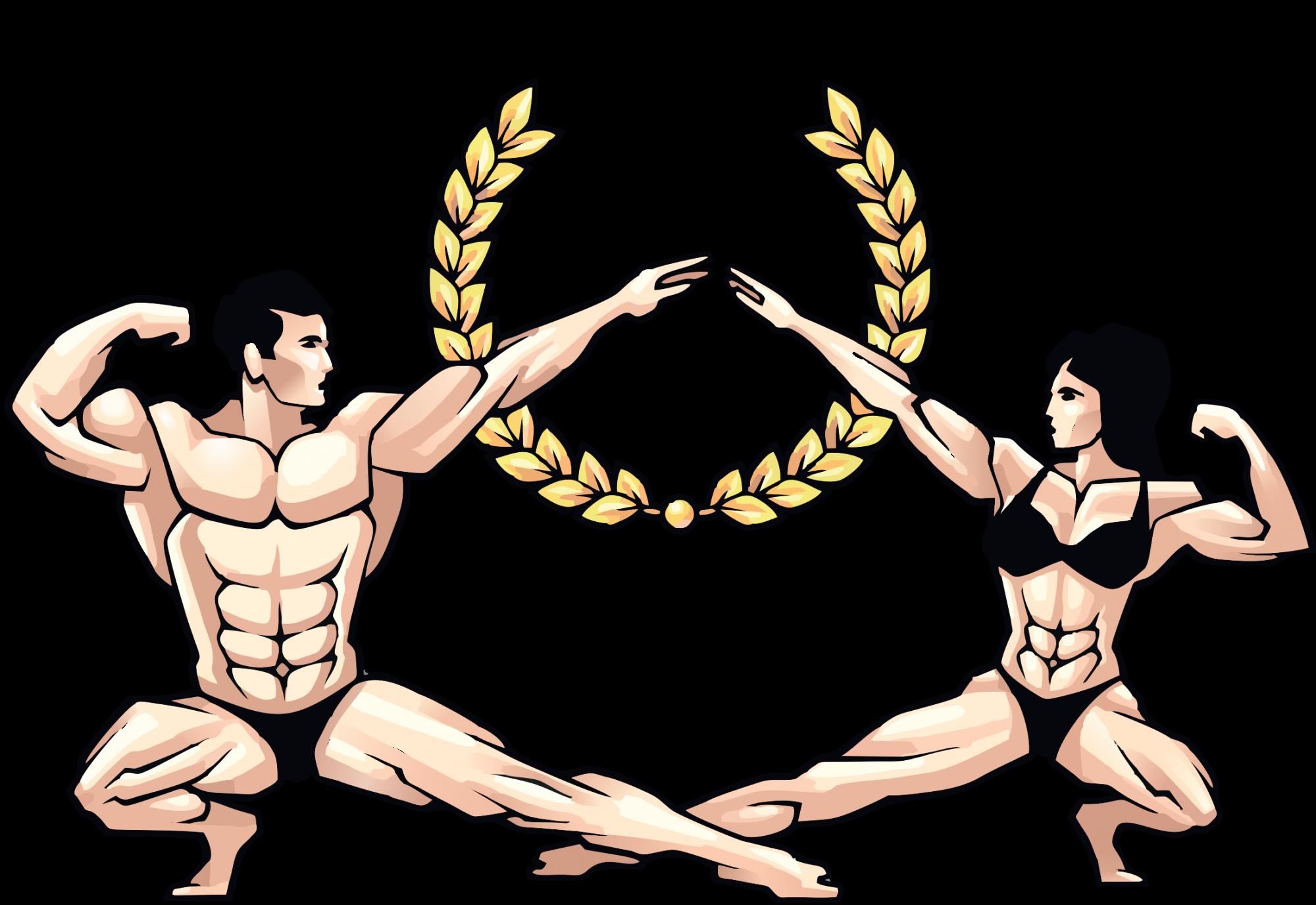 Men's Physique Bikini Stars 2018