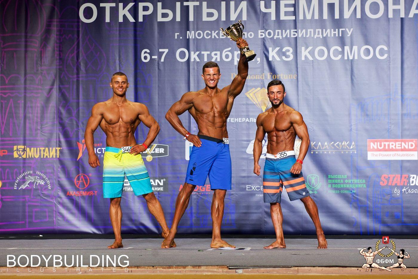 Чемпионат Москвы 2018 по бодибилдингу