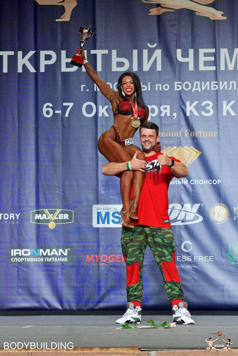 Результаты Чемпионат Москвы по бодибилдингу 2018