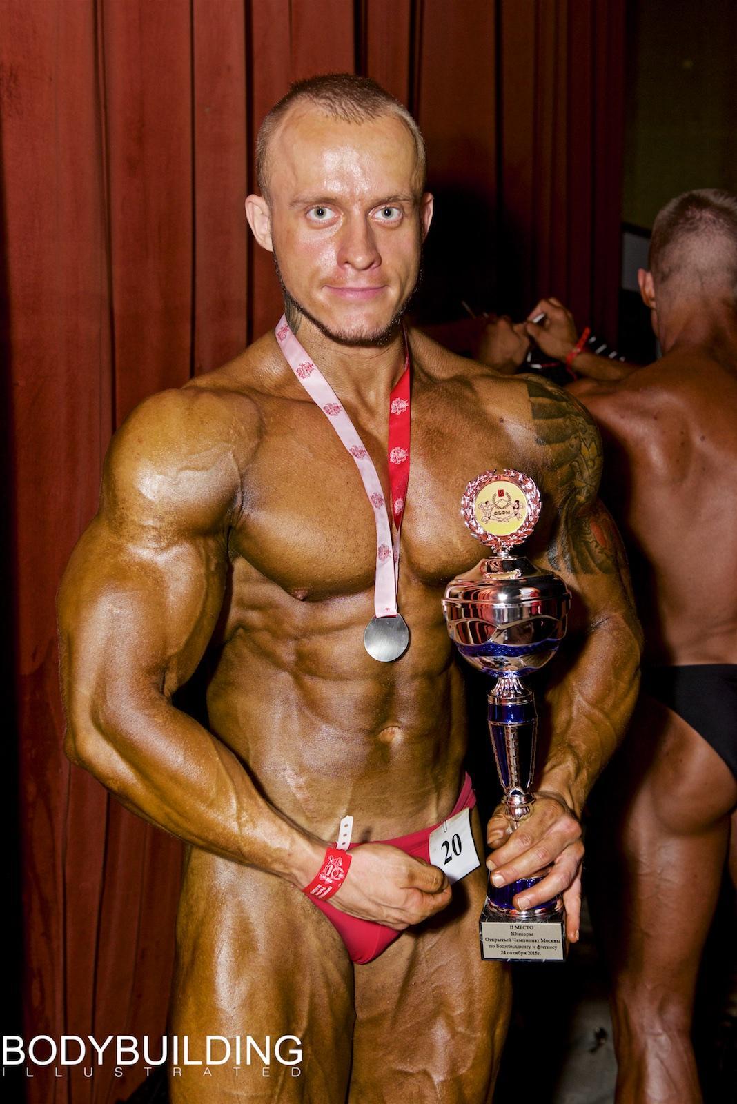 Александр Ларьков – 2 место