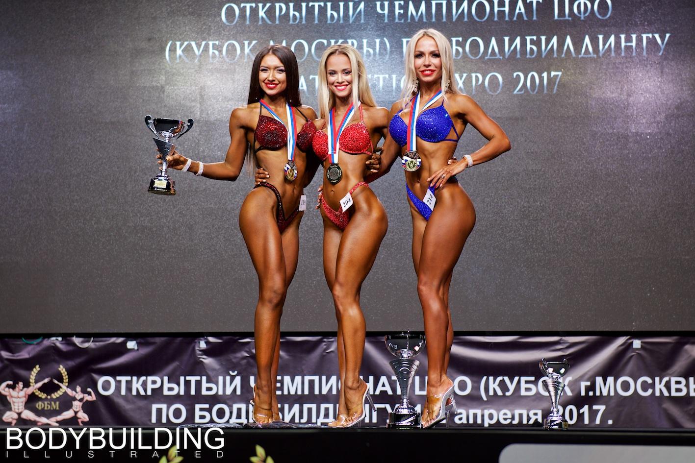 Кубок Москвы 2017. День первый. Победители.