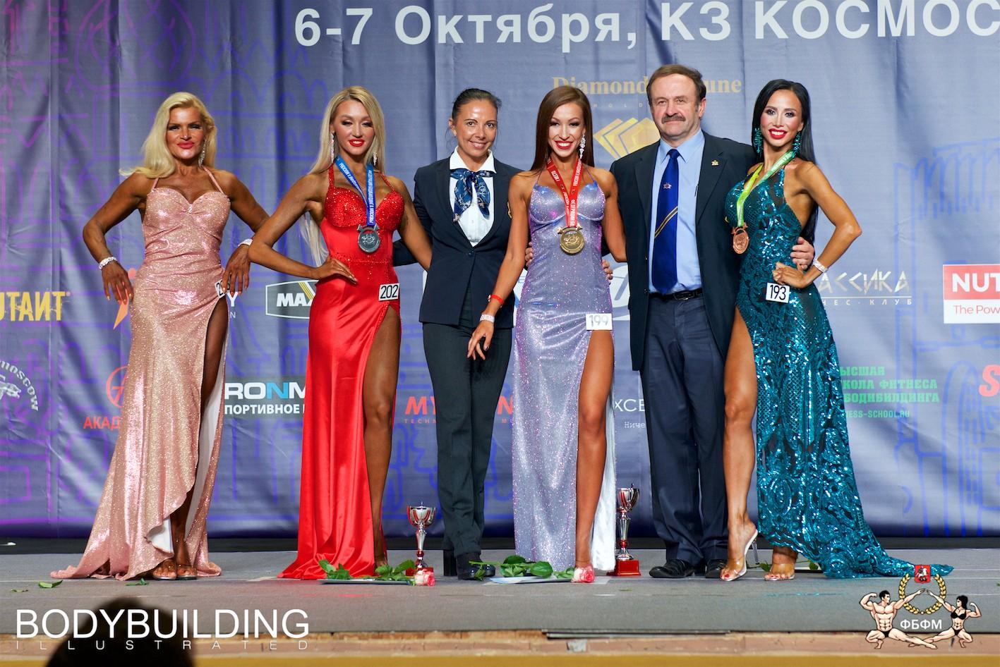 Аминова Наиля чемпионат Москвы по бодибилдингу 2018