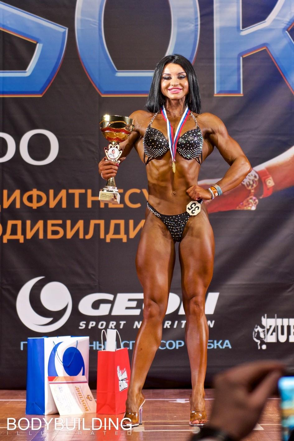 Результаты первого дня Кубка Московской области по бодибилдингу 2019