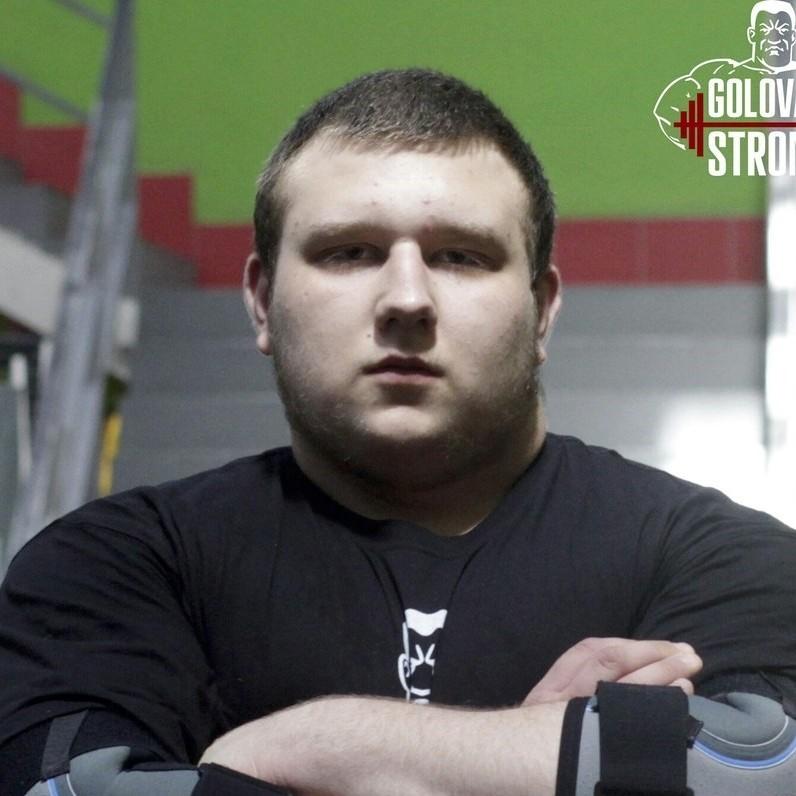 Никита Головань, Москва. Klokov & Baza Team. Самый сильный юниор России 2015-2016