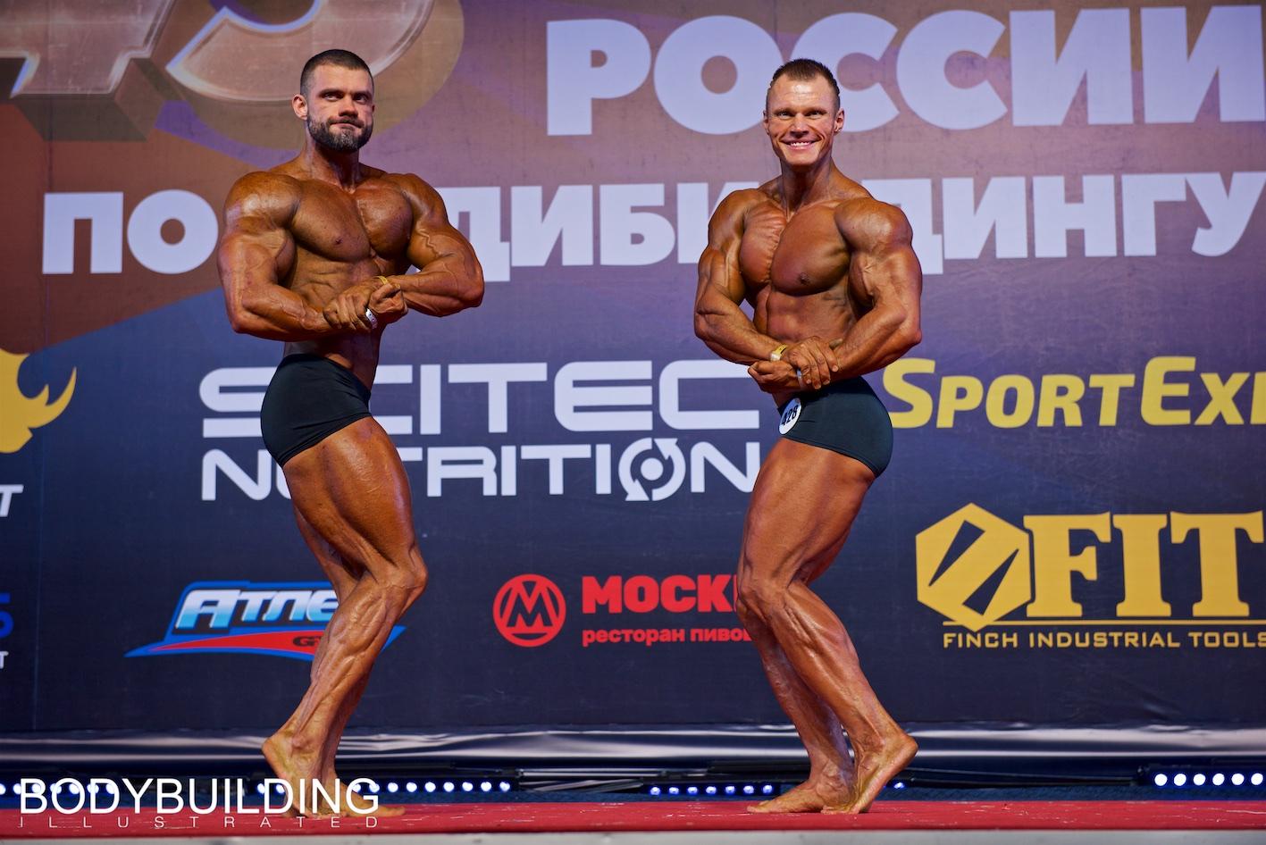 Результаты третьего дня Кубка России по бодибилдингу 2019