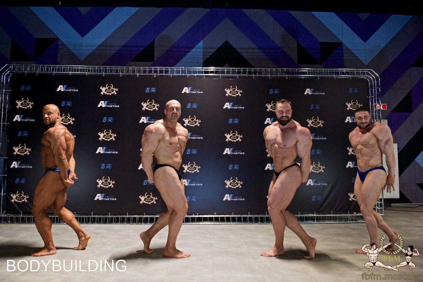 Кубок Москвы по бодибилдингу 2019 - фото с регистрации