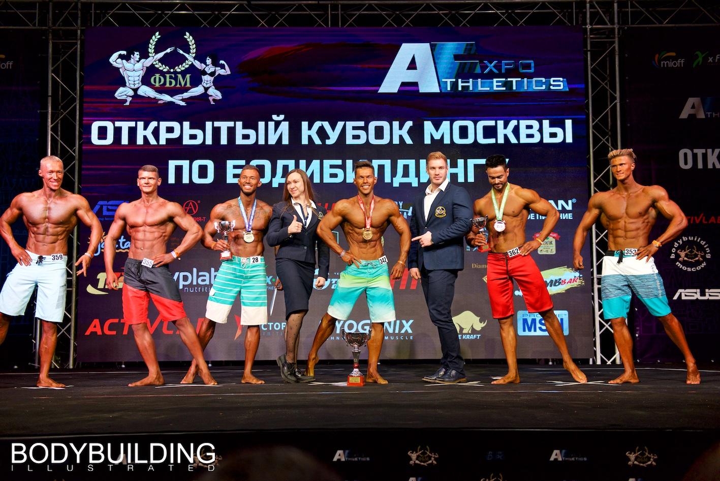 Кубок Москвы по бодибилдингу 2019 Пляжный бодибилдинг +178см