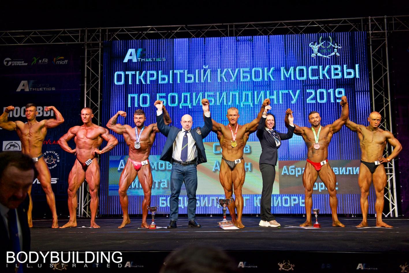 Кубок Москвы по бодибилдингу 2019 результаты.
