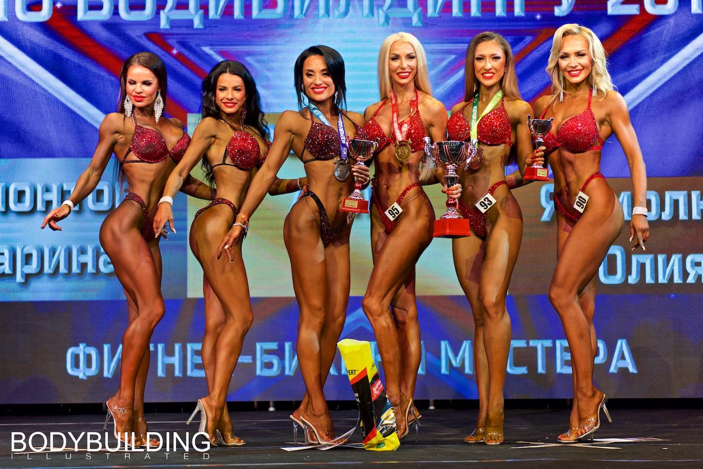 Кубок Москвы по бодибилдингу 2019 фитнес-бикини