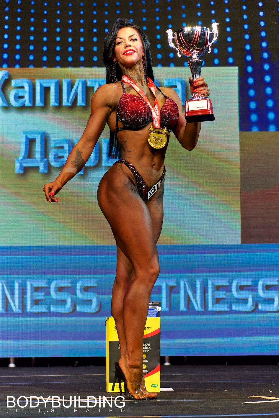 Кубок Москвы по бодибилдингу 2019 wellness fitness