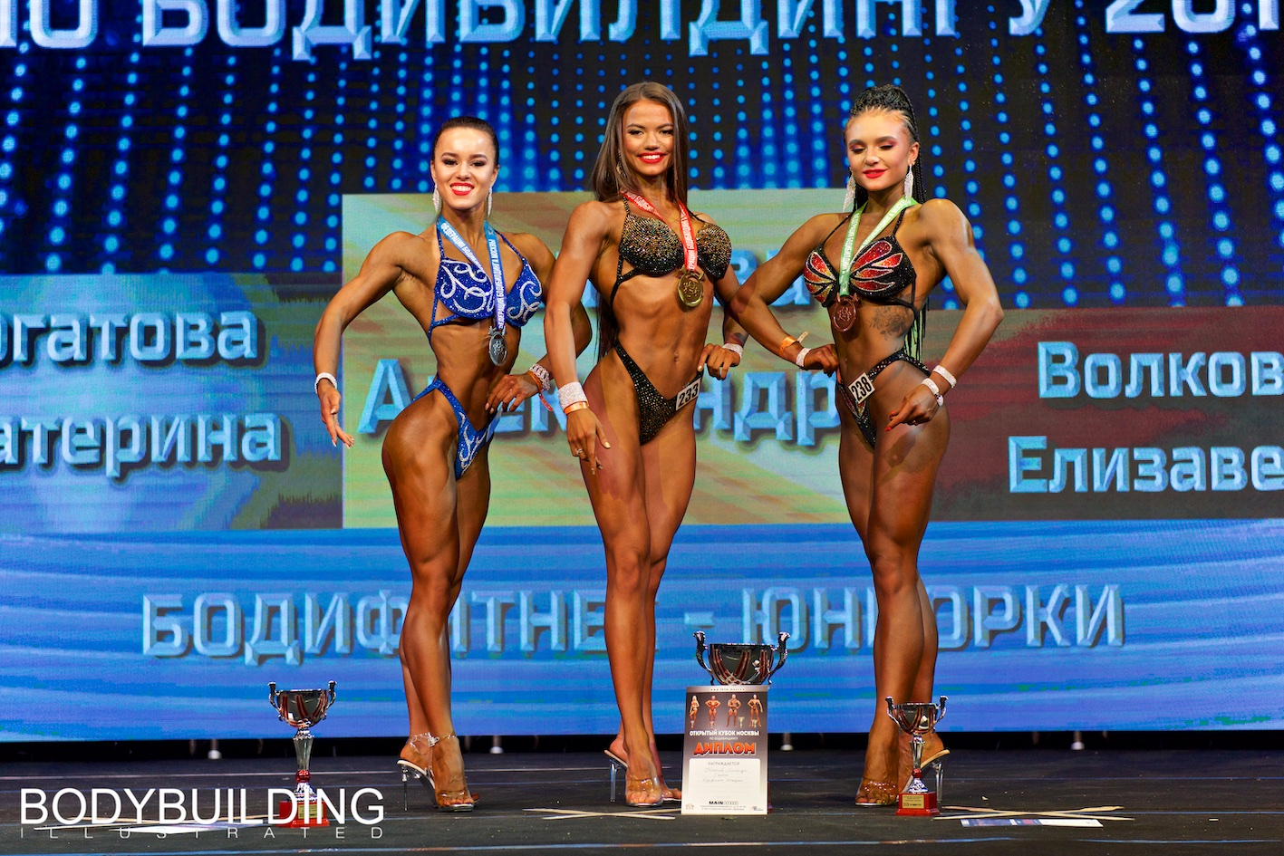 Кубок Москвы по бодибилдингу 2019 бодифитнес