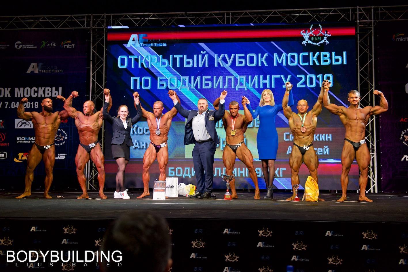 Кубок Москвы по бодибилдингу 2019 Категория:  бодибилдинг