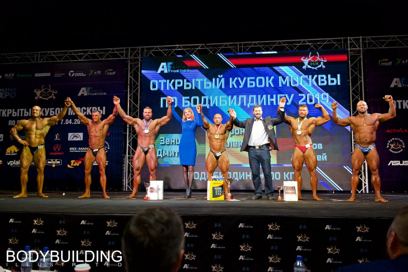 Кубок Москвы по бодибилдингу 2019