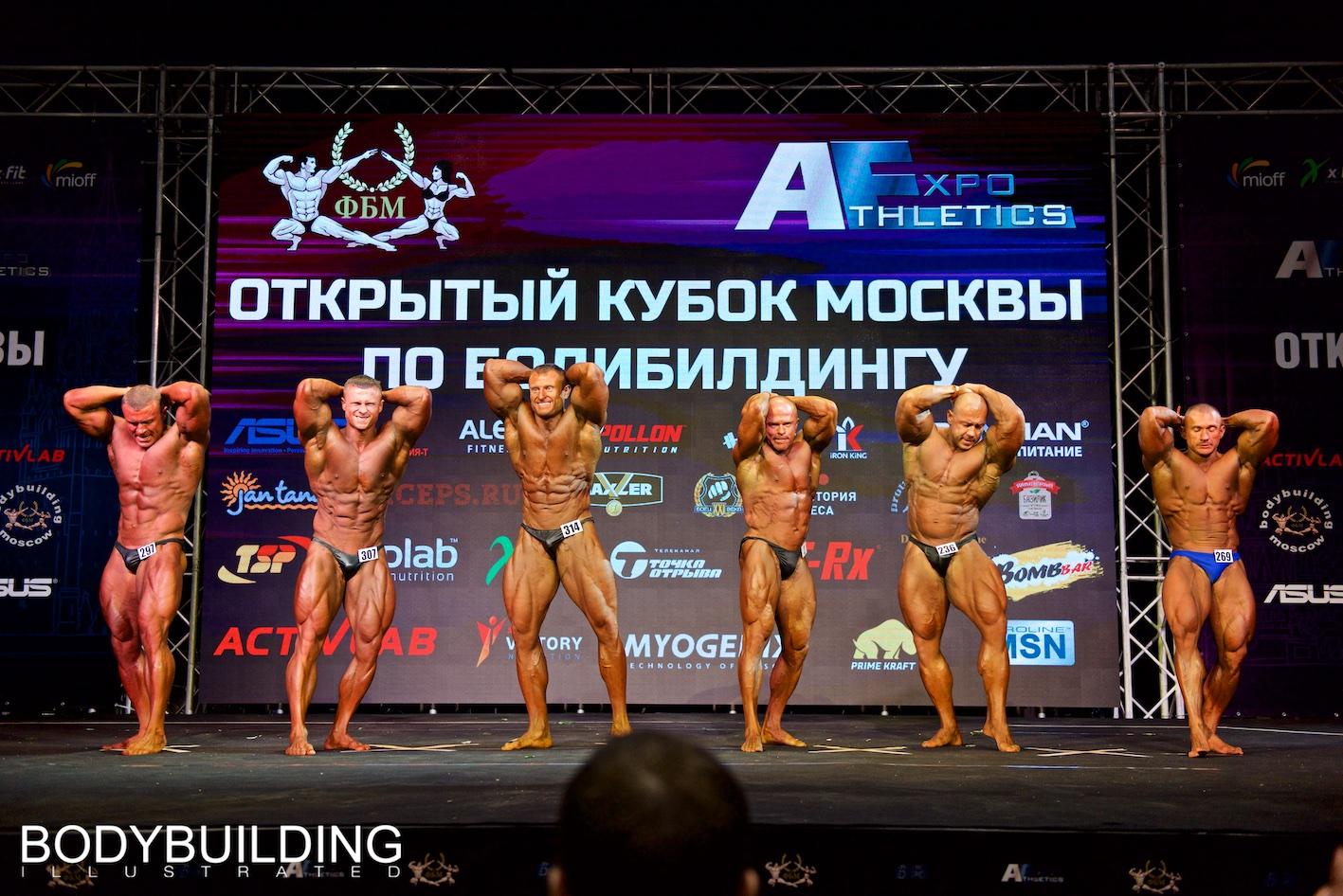 Тронов Алексей Кубок Москвы по бодибилдингу 2019 абсолютка