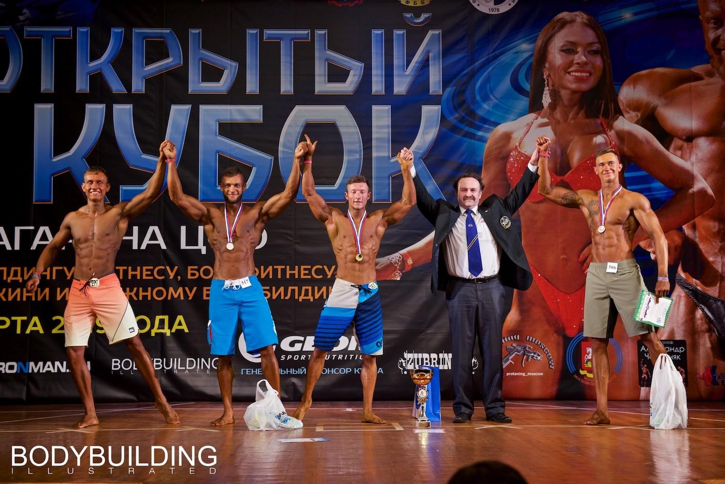 Второй день Кубка Московской области по бодибилдингу 2019