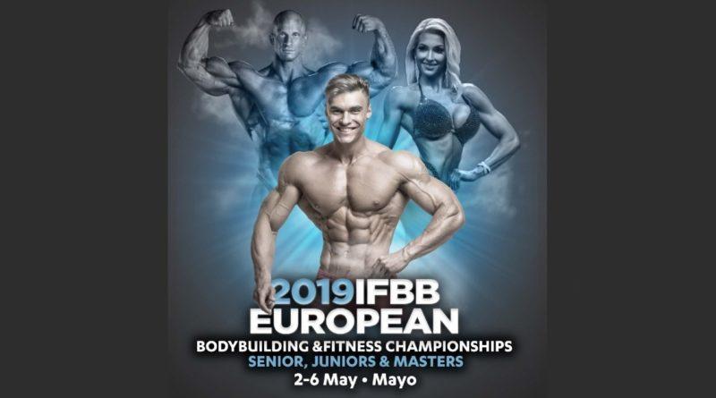 2019-European-Championships Чемпионат Европы 2019 года по бодибилдингу и фитнесу IFBB