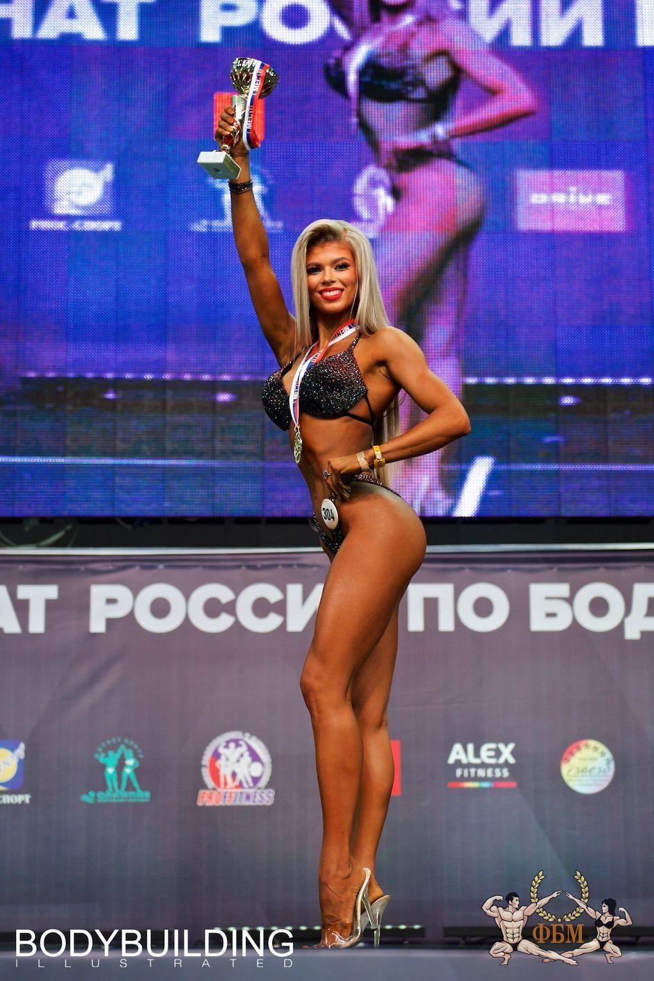 По итогам чемпионата России по бодибилдингу 2019 (ФББР)
