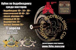 MOSCOW BODYBUILDING CUP MASTERS 2021