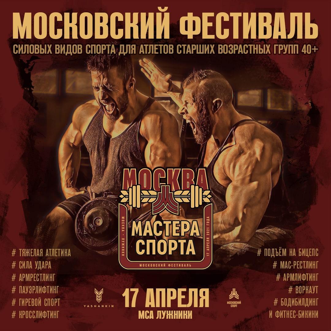 Обновленный регламент MOSCOW BODYBUILDING CUP 2021