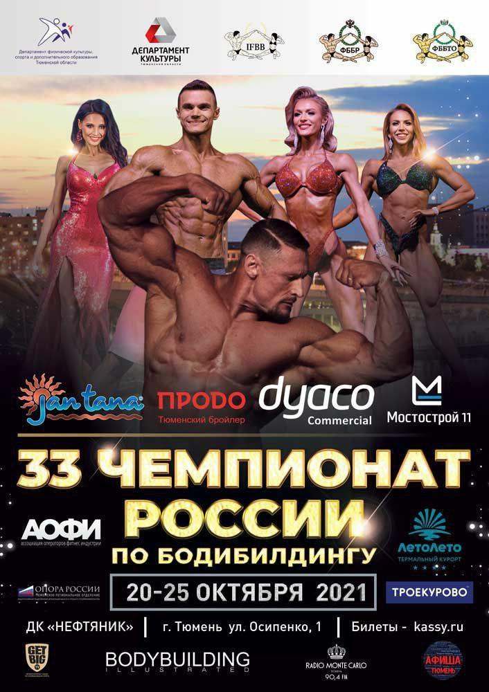 Предварительная заявка на Чемпионат России 2021